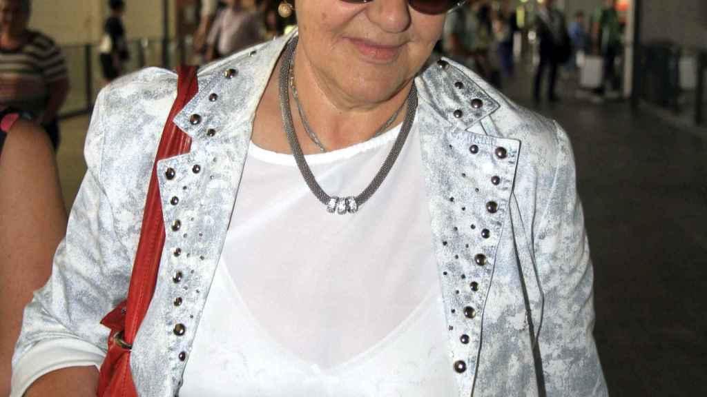 Carmen Bazán en la pasada feria taurina de Arcos de la Frontera.