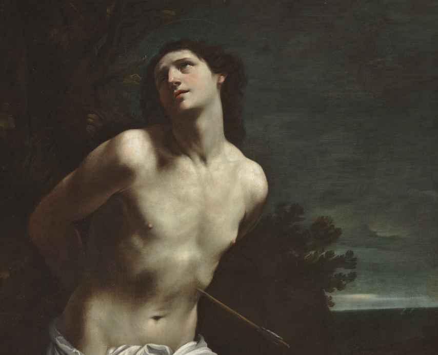 San Sebastián, de Guido Reni, incluido en el itinerario La mirada del otro.