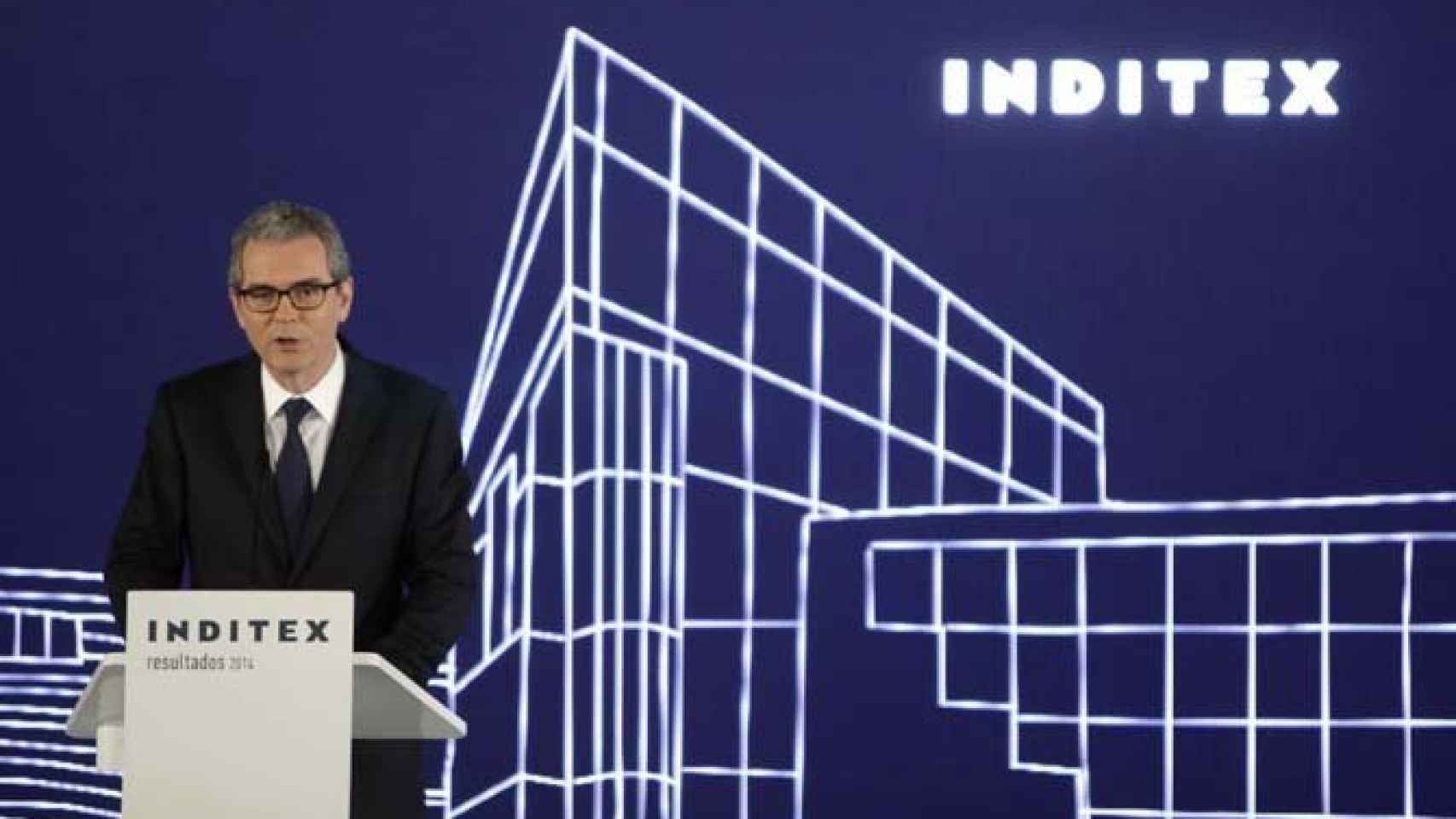 El presidente de Inditex, Pablo Isla, en una imagen de archivo.