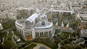 El edificio PHS del Parlamento Europeo en Bruselas