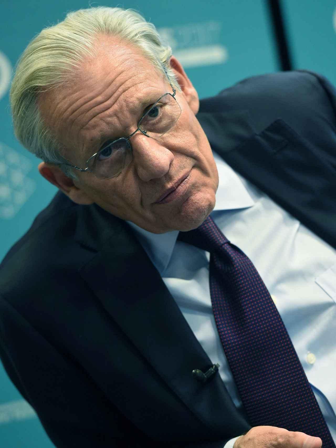 Woodward durante el acto de Atresmedia celebrado este miércoles en Madrid.