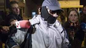 Pedro Luis Gallego, el violador del ascensor, el día de su salida de prisión.
