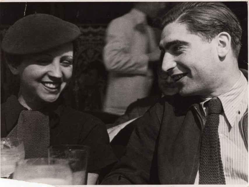 Robert Capa y Gerda Taro.