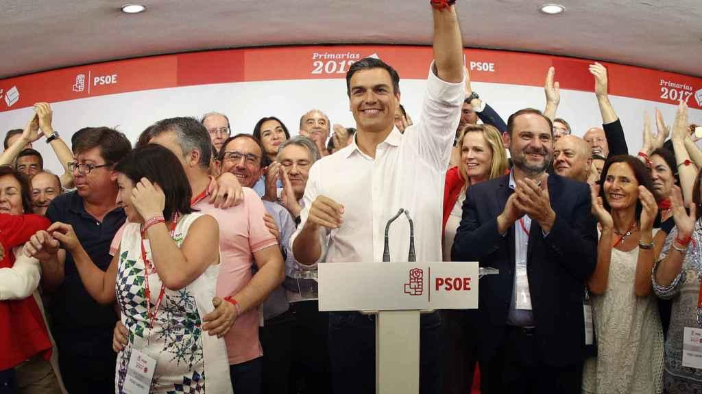 Pedro Sánchez será elegido secretario general en el 39º Congreso Federal tras ganar las primarias