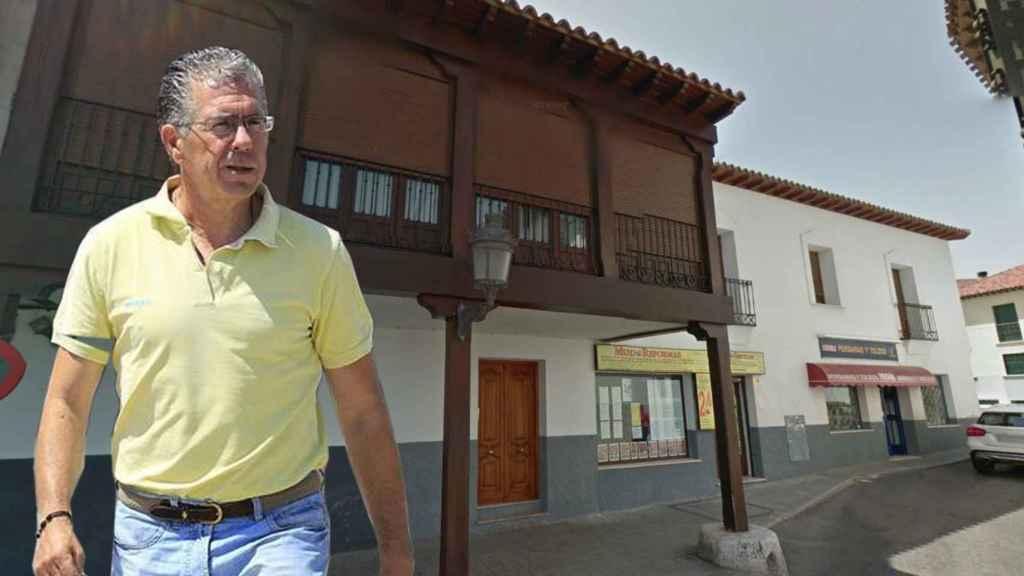 Francisco Granados a su salida de la cárcel de Estremera.