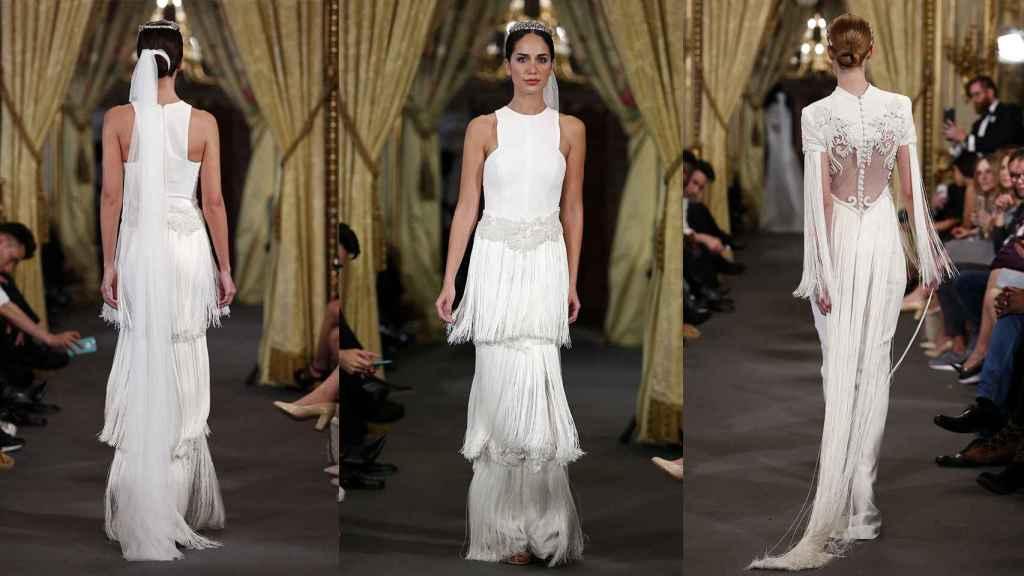 Vestidos de novia de Fernando Claro.