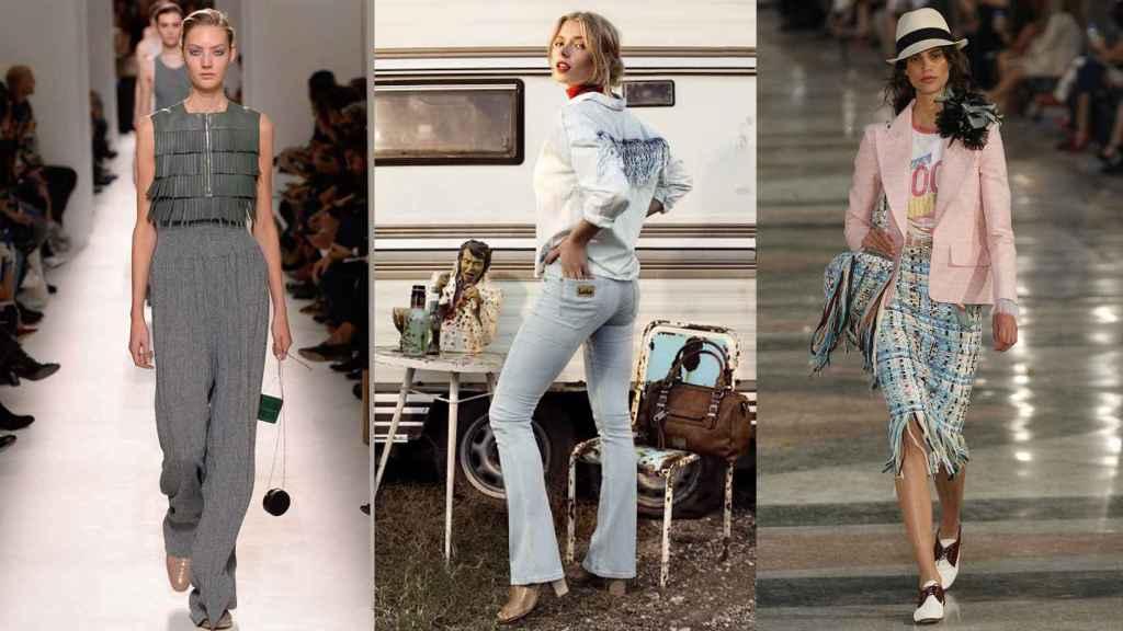 De izquierda a derecha, modelos de Hermès, Lois y Chanel.
