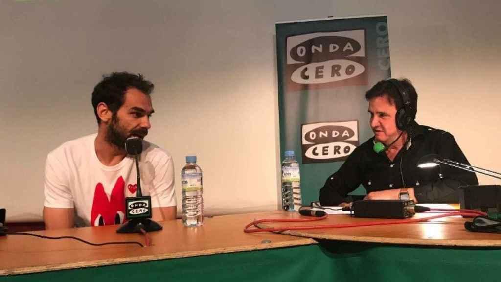 José Manuel Calderón en El Transistor. (@ElTransistorOC)