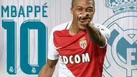 El Real Madrid reserva el '10' de James para Mbappé