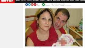 Imagen de la pareja difundida por el diario 'Mirror'