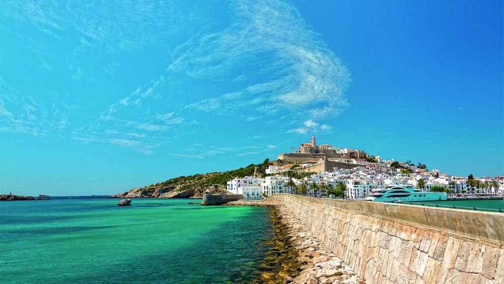 Ubicación del nuevo puerto de Ibiza.