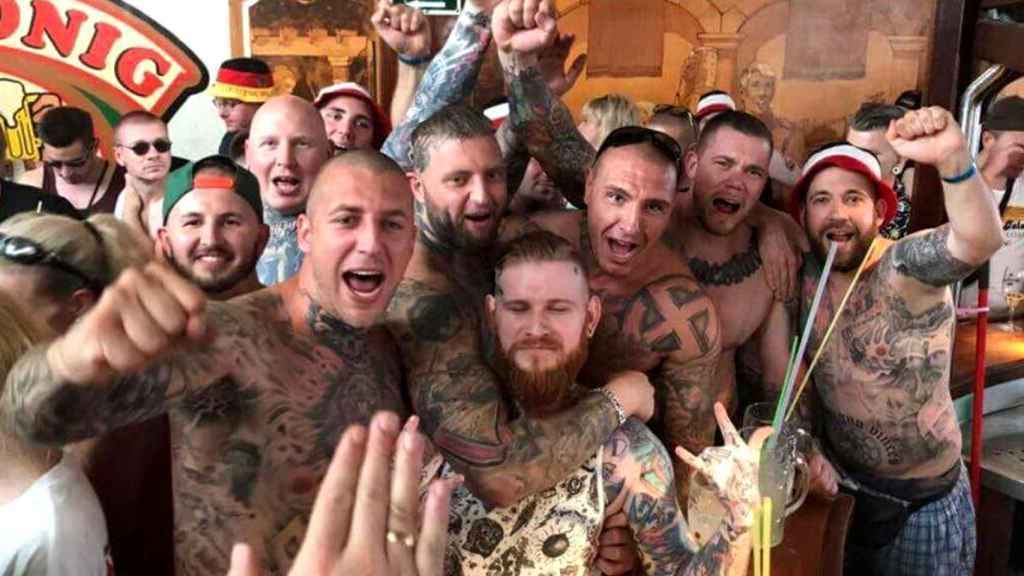 Estos son los nazis de Hammerskin que reventaron un concierto en un bar de Mallorca