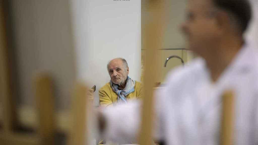 López fue a Madrid para estudiar pintura sin haber estudiado el bachillerato.