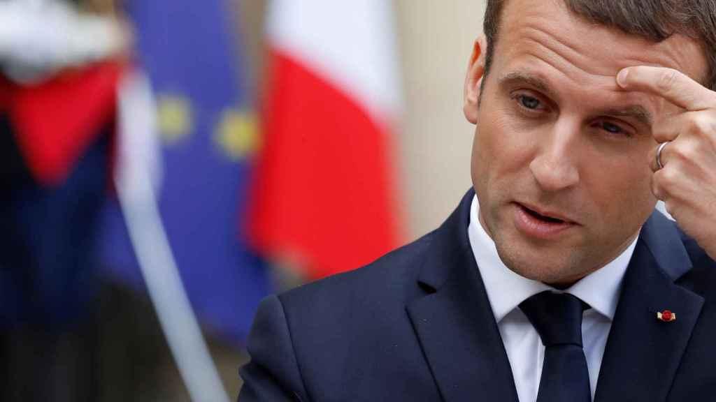 Macron, esta semana en el Elíseo