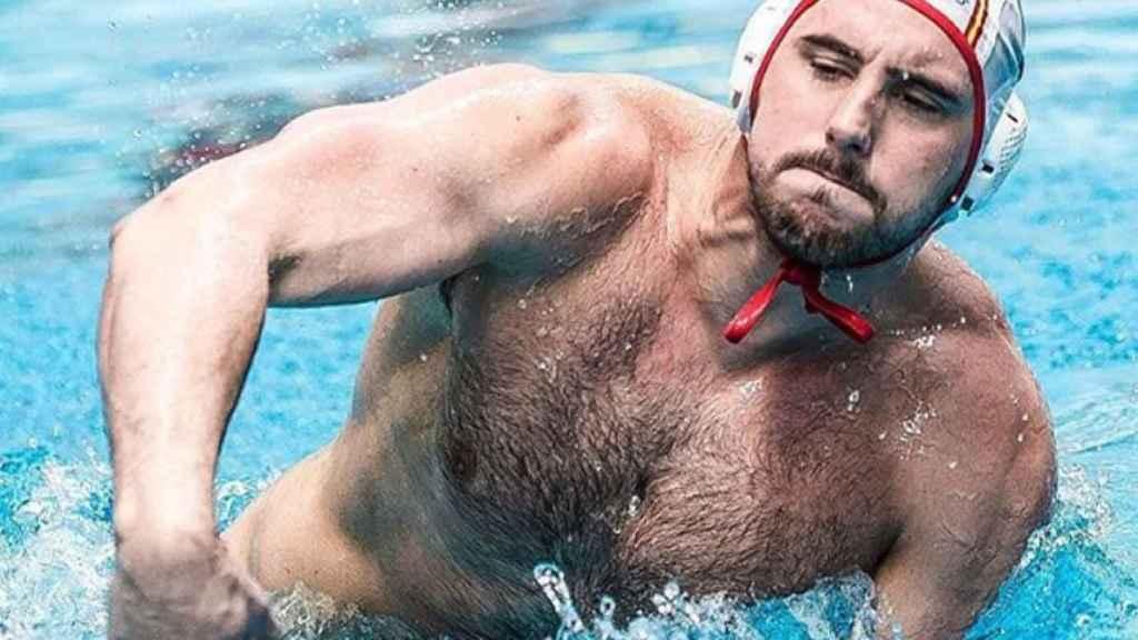 Víctor Gutiérrez, jugador de waterpolo agredido