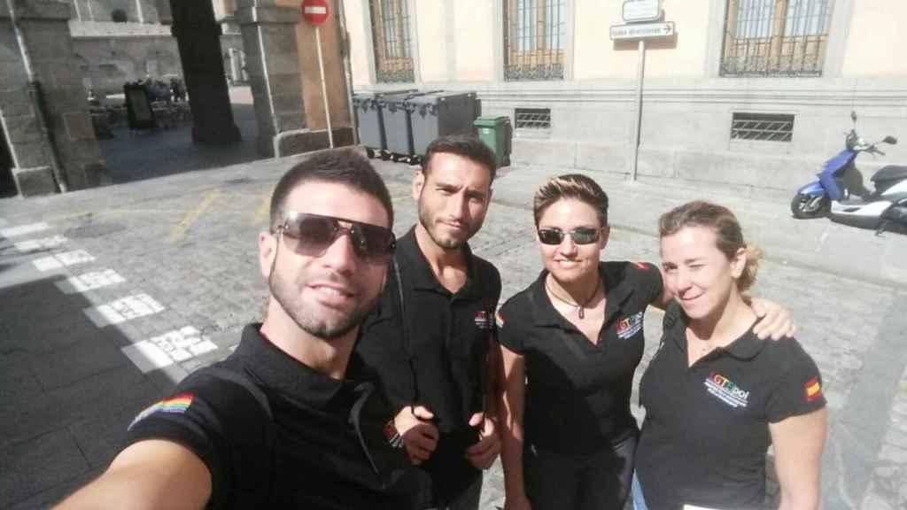 Los agentes que lideran la asociación creada para visibilizar al colectivo dentro de la Policía y Guardia Civil