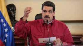 Maduro, en una reunión con los ministros.