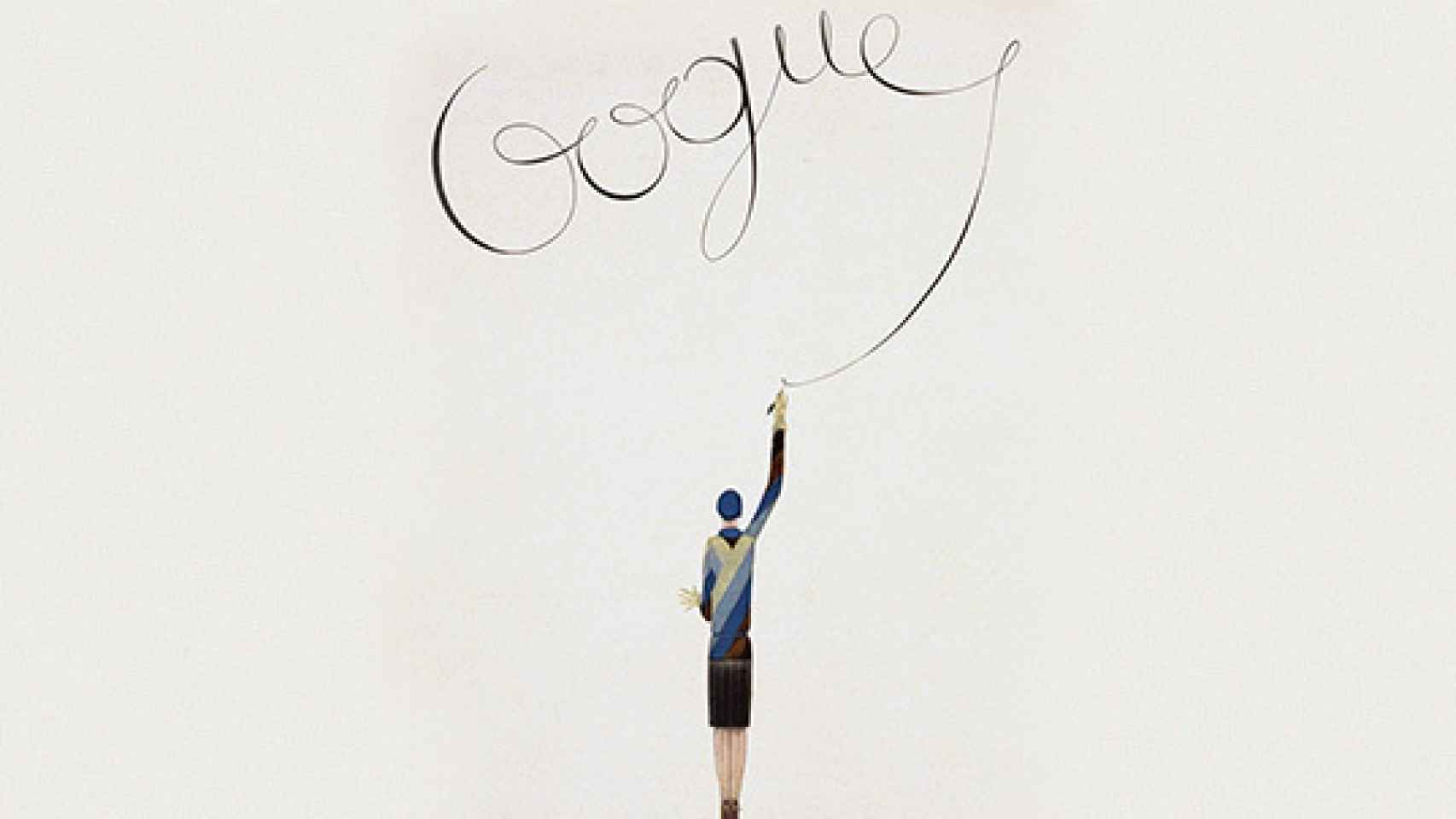 GEORGE LEPAPE (1887-1971) fue uno de los ilustradores franceses más relevantes de las primeras décadas del siglo XX. Sus ilustraciones destacan por siluetas femeninas con delgadas y largas extremidades, siempre con turbantes. Colaboró con la prestigiosa revista Gazette du Bon Ton y realizó numerosas portadas para Harper's Bazaar, Vanity Fair y la primera edición británica de Vogue y Vogue USA, para la que realizó hasta más de 100 portadas entre 1916 y 1939. También creó numerosos bocetos para algunas de las casas de moda más importantes como Lanvin, Worth y Doucet. | Ilustración para Vogue.