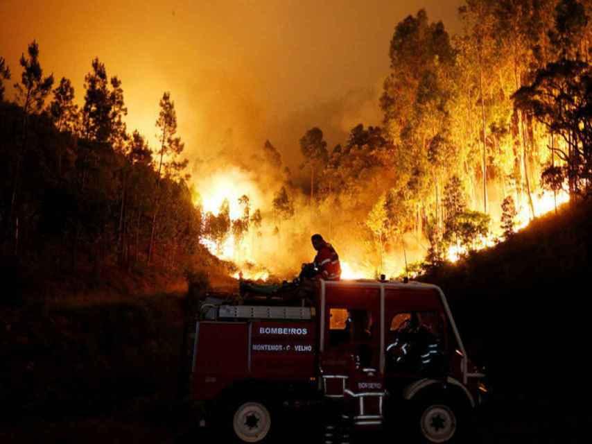 El incendio ha devastado el corazón de Portugal.
