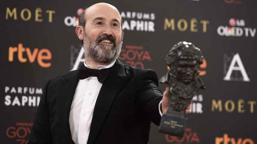 El actor en los Goyas de 2016.