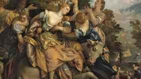 Fragmento de El rapto de Europa, de Paolo Veronés, incluido en la muestra.
