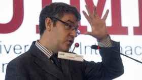 El ministro de Energía, Álvaro Nadal, durante su intervención en el curso de la UIMP.