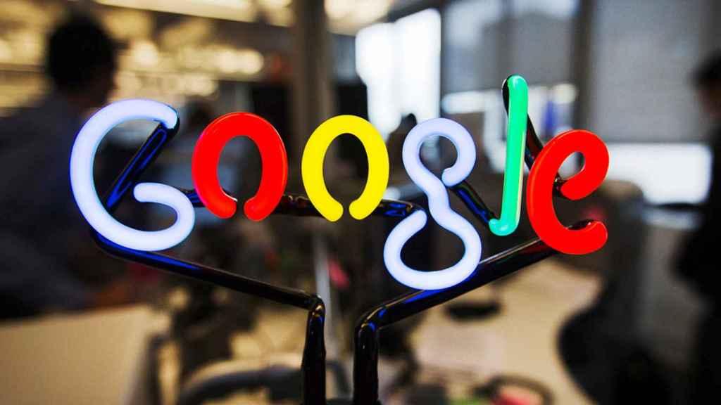Logo de Google en una imagen de archivo.