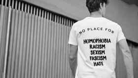 La camiseta de Shaheko para World Pride Madrid 2017.