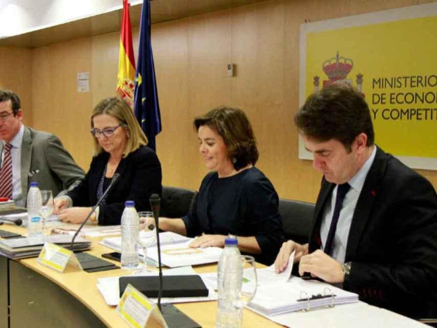 Sáenz de Santamaría presidió el pasado 22 de febrero el Consejo para la Unidad de Mercado