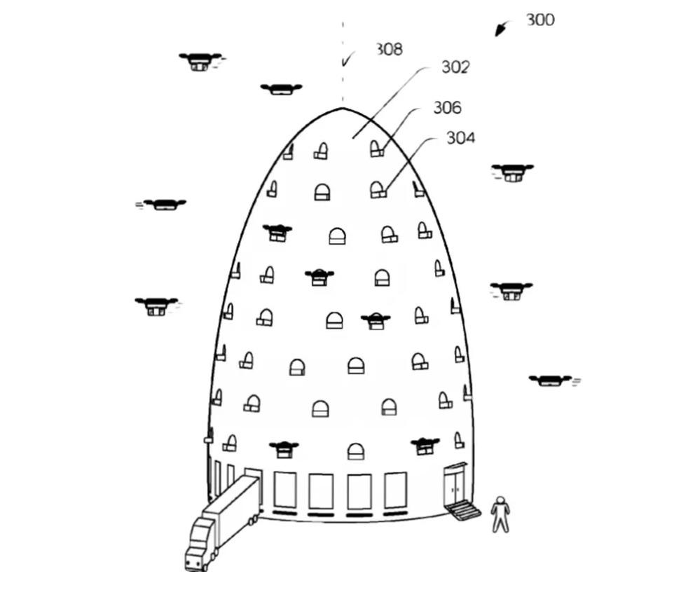 torre amazon drones