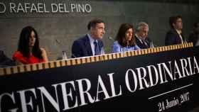 Imagen del consejo de El Español durante la Junta General de Accionistas.