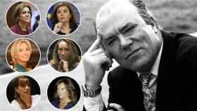 El comisario Villarejo y las mujeres que han marcado su carrera.