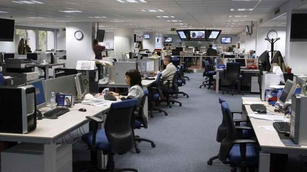 Imagen de archivo de una oficina