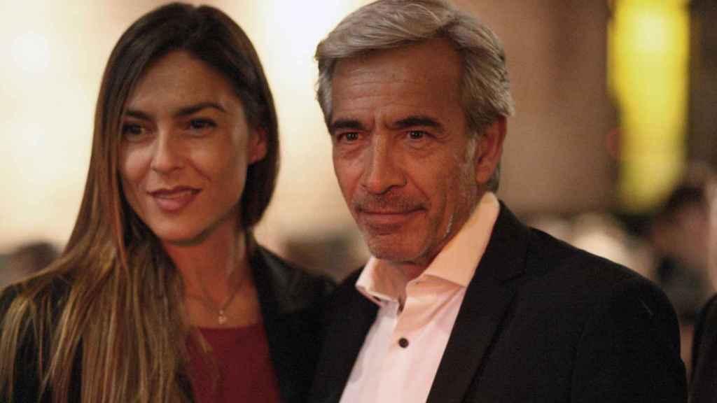 Irene Meritxell e Imanol Arias.
