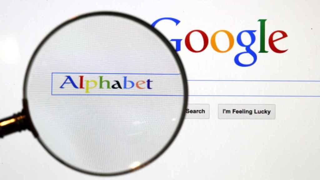 La página de búsquedas de Google