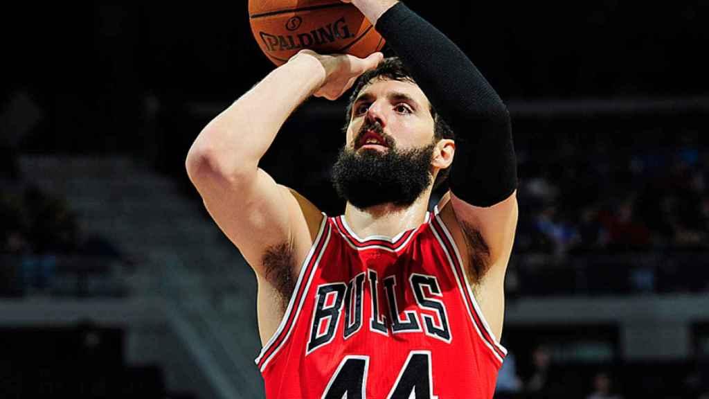 Nikola Mirotic con los Bulls esta temporada.