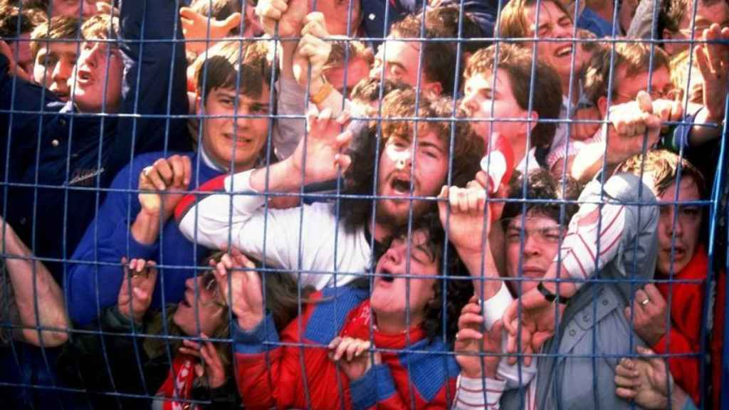 Imagen de archivo de la tragedia de Hillsborough.