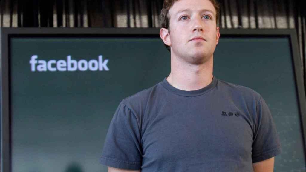 Marck Zuckerberg, CEO y fundador de Facebook.