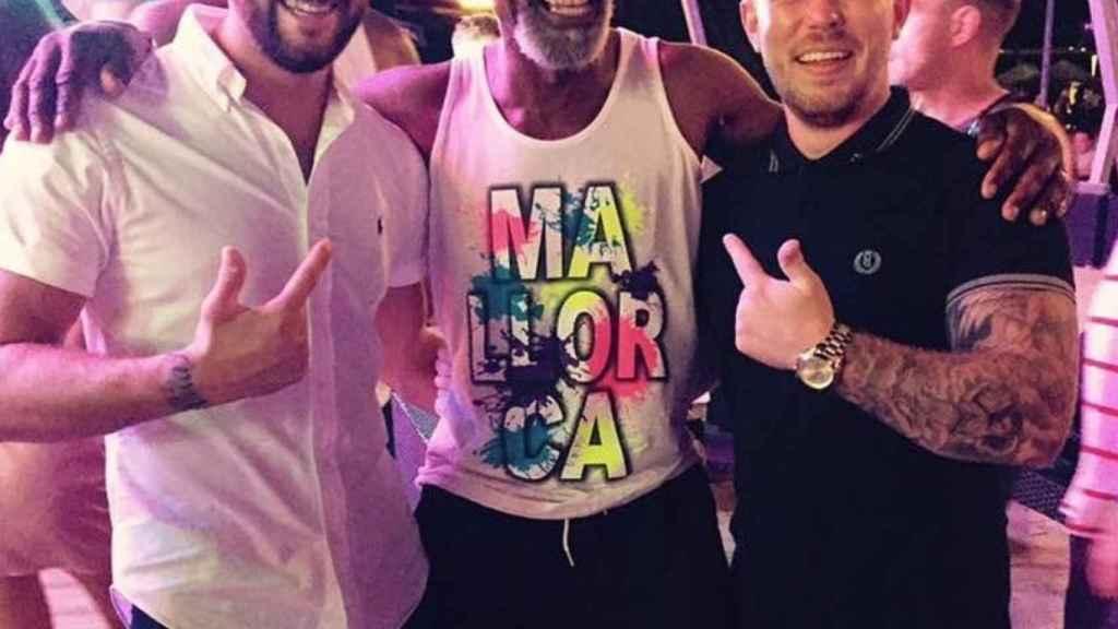 Un doble de Morgan Freeman triunfa en Magaluf