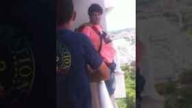 El video del tipo que salta en paracaídas es fake