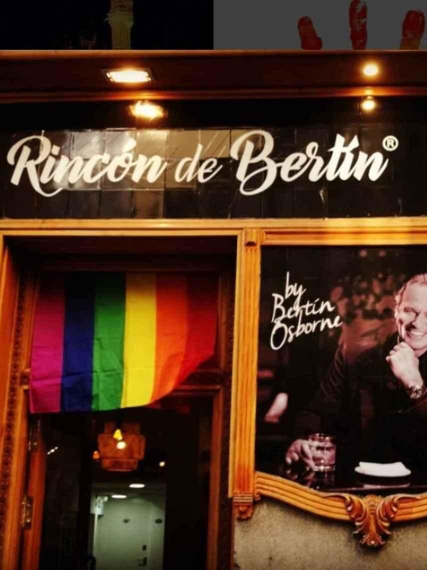 Imagen del bar de Bertín Osborne en el centro de Madrid.