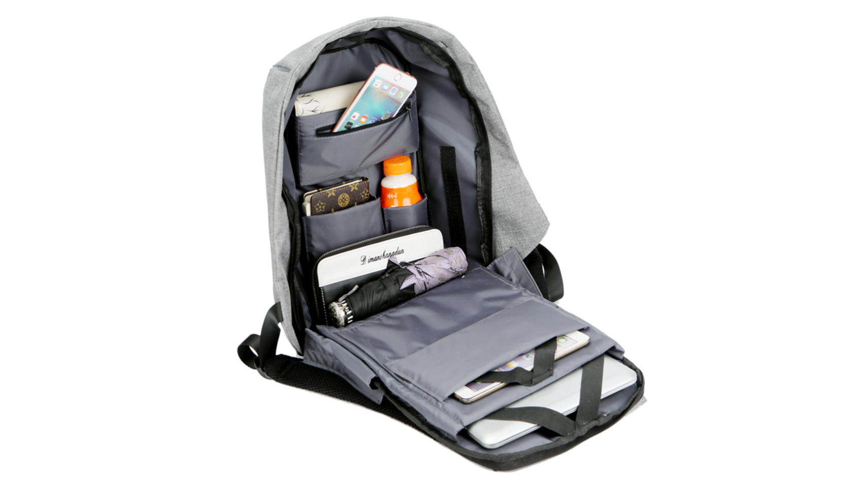 Bobby-backpack-Waterproof-XD-DESIGN-Security-Multi-Function-Backpack-School-Reversible-with-USB-Charging-Port-Laptop
