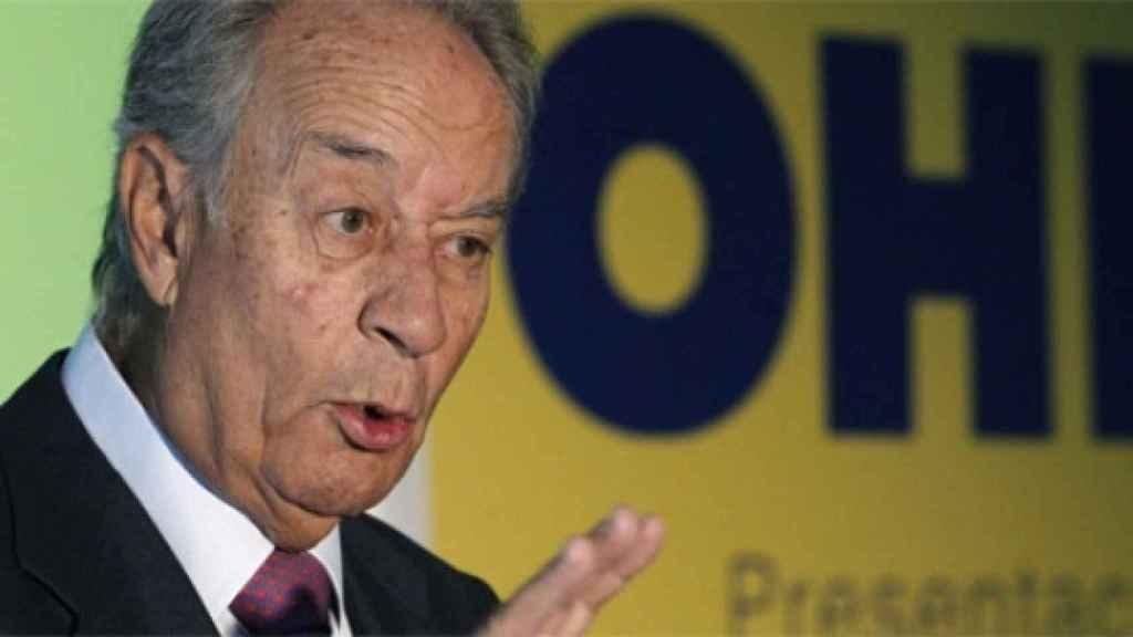 Juan Miguel Villar Mir, máximo responsable de la constructora OHL.
