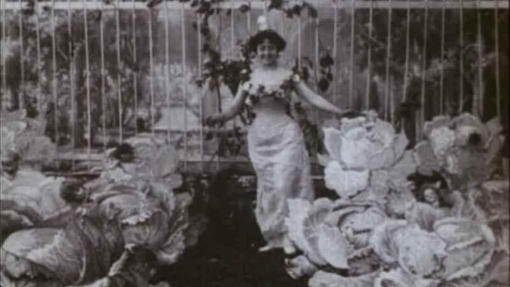 El hada de los repollos, primera película de ficción de la historia.