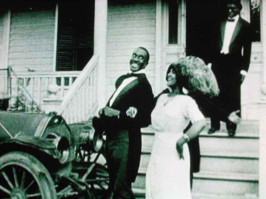 A Fool and His Money (1912), la primera cinta íntegramente protagonizada por negros.