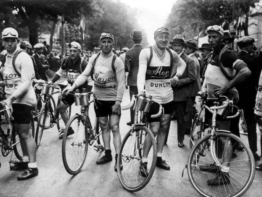 Nicolas Frantz, líder del Tour de Francia de 1928.