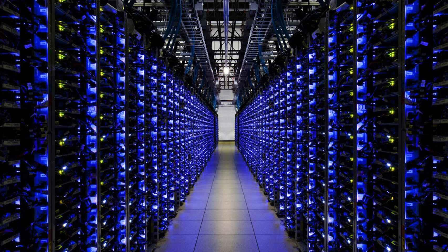 servidor google data centers
