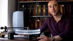 Carlos Martin Ballester tiene centenares de grabaciones sobre la época franquista