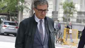 Jordi Pujol a su llegada a la Audiencia Nacional