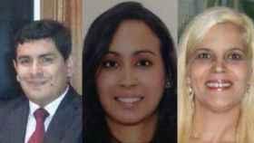 Las dos mujeres víctimas del crimen y el abogado peruano, Salas, objetivo real del militar norteamericano.